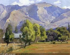 A California landscape sold by Butterfield & Butterfield, San Francisco, on Wednesday, December 13, 2000