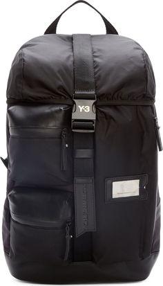 Y-3 Black Cargo Mobility Backpack Ebags BackPack Tumblr   leather backpack tumblr   cute backpacks tumblr http://ebagsbackpack.tumblr.com/