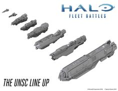 Halo Fleet Battles Tabletop Game