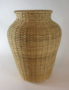 Billy Ray Sims: White Oak Feather Basket