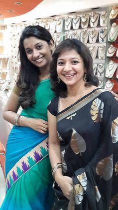 Priya Bhavani Shankar and Priya in Saree