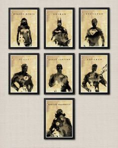 Justice League Ink Effect