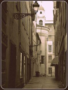 old postcard by Giulia Bacchini