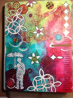 Claudine's Art Corner: Sprucing Up A Cover & I WON!!