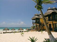 Piedra Escondida: Tulum beach resort/hotel: Mexico vacation