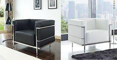 LC3B Grande 35'' Club Chair at www.dcgstores.com - Sales $749.00