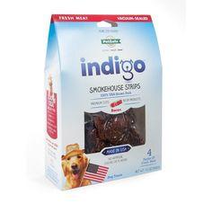Indigo Smokehouse Strips Bacon-Available in three sizes-$14.95   www.activedogtoys.com #fun_toy #dog_treat