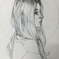 My Sketchbook Art Drawing Girls Cute Sketch Drawing .- My Sketchbook Art Dr. Sketches Of People, Drawing People, Sketches Of Women, Pencil Art Drawings, Art Drawings Sketches, Lorde, Medieval Paintings, Portrait Sketches, Portrait Illustration