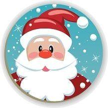Santa Crafts, Christmas Wood Crafts, Christmas Rock, Christmas Plates, Diy Christmas Ornaments, Felt Christmas, Christmas Projects, Holiday Crafts, Christmas Decorations