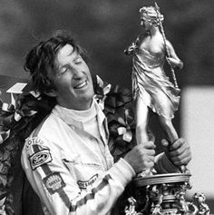 Jochen Rindt - Formula 1's only posthumous World Champion.  Rindt was killed during the qualifying of the Gran Premio d'Italia 1970 at Monza, Italy.