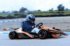 Electric go-kart