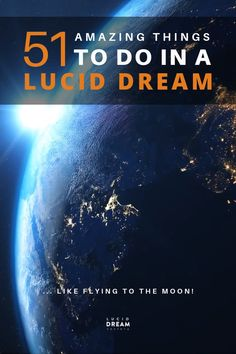 A list with 51 lucid dream ideas and fantastic things to do in a lucid dream! Find inspiration, and also learn what you shouldn't do in a lucid dream! Lucid Dreaming Dangers, Lucid Dreaming Tips, Dreaming Of You, Dream Book, Dream Art, Spiritual Development, Psychic Development, Stuff To Do, Things To Do