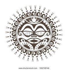 Tattoo tribal art mask..Fancy style wall poster #fancy #mask #tribal #tattoo #wallposter #art #DIY