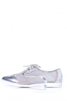 Hela Brogue in Silver Brogues, Nike Free, Sneakers Nike, Walking, Valentines, Movie, Park, Night, Silver