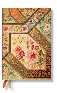 Sharing Paperblanks 2014 Mini Filigree Diary Week to View from WHSMITH