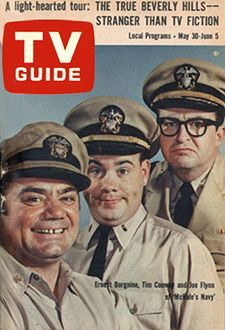 McHale's Navy is an American television sitcom series which ran for 138 half-hour episodes from October 11, 1962 to August 31, 1966 on the ABC network. The series was filmed in black and white and originated in a one-hour drama called Seven Against the Sea, broadcast on April 3, 1962.