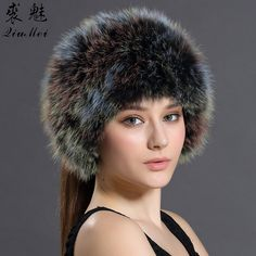 96c8716234f Winter Bomber Hats Solid Russian Women Headgear Real Fur Female Winter Caps  Hats New 2016 Female