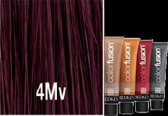 Redken Color Fusion MAHOGANY/ violet-people don't even understand my Redken obsession. Color Caoba, Color Lines, Cut And Color, Igora Hair Color, Redken Hair Color, Redken Color Formulas, Hair Color Formulas, Zooey Deschanel, Love Hair
