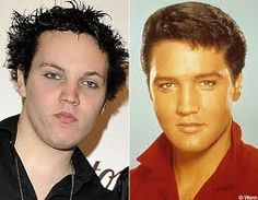 *BEN KEOUGH ~ Elvis' grandson...look at the family resemblance! wow!