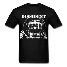 >> Click to Buy << Dissident Man Hoodie Glasses Reflect Army Graphic Shirt T-shirt T Shirt O-Neck Fashion Casual High Quality Print T Shirt #Affiliate