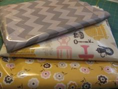 Tutorial - sewing with laminated fabric