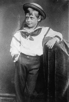 Prince George, future George V, in 1870