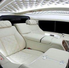 White Interior Custom Car Interior, Car Interior Design, Luxury Interior, Bentley Interior, Luxury Decor, Luxury Sports Cars, Sport Cars, Luxury Auto, Luxury Hotels