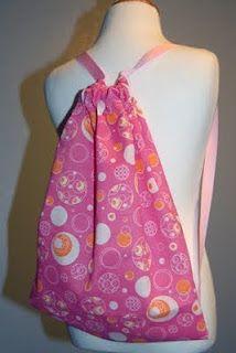 Fat Quarter Drawstring Backpack   ReannaLily Designs