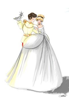 Cinderella and Prince by SilverCatseyes.deviantart.com on @deviantART