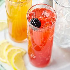 This fizzy pink drink is a kid-friendly, real-fruit alternative to bottled pop. For an adults-only version, add two tablespoons of rum, tequila or citrus-infused vodka to each serving or 1 to 11/4 cu...see more