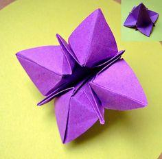 origami flower | da evi binzinger