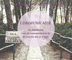 YOUR PATH TO SUCCESS   Communicatie. Krijg jij altijd de #respons die jij…