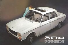 1971 Peugeot 304 | Cover of a brochure used in Sweden