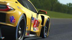 Corvette C8.R For rFactor 2 Announced - Bsimracing Antonio Garcia, Racing Simulator, Coming Soon, Chevrolet Corvette, Le Mans, Cadillac, Ferrari, Product Launch, Nissan