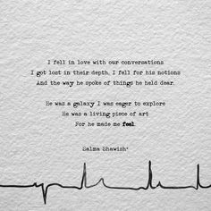 Heartbeat. #iWrite #salmashawish #powerofwords #poetry #love #hope #depth