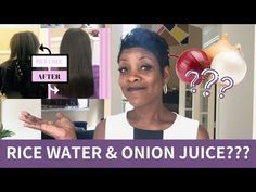 Here's How Rice Water & Onion Juice Can Help Your Hair Grow ðŸ YouT - Bonheurfitness Extreme Hair Growth, Hair Growth Tips, Onion Juice For Hair, Onion Hair, Long Hair Tips, Long Face Hairstyles, Garden Route, Hair Loss Remedies, Hair Loss Treatment