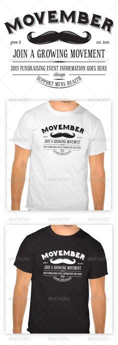 Movember T-Shirt - Download…
