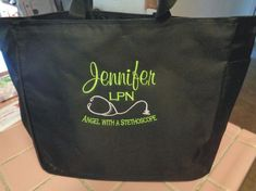 Or a MD CNA PA LPN LVN! FOR THE NURSE. Perfect gift for a Nurse! Fabric/Style: Handy classic tote at a wonderful value. Free Cna Training, Training Classes, Training Programs, Cna School, Monogrammed Bridesmaid Gifts, Nursing Care Plan, Nursing Jobs, Nursing Programs, Lpn Programs