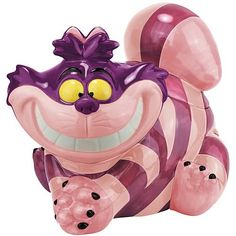 Alice in Wonderland Cheshire Cat Cookie Jar - Westland Giftware - Alice in Wonderland - Cookie Jars at Entertainment Earth