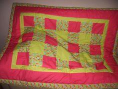 Criadora Implacável: Patchwork: Manta e protecção de cama de grades