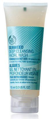 The Body Shop Seaweed Deep Cleansing Facial Wash Skincare For Oily Skin, Cleanser For Oily Skin, Oily Skin Care, Face Cleanser, Best Face Wash, Acne Face Wash, Facial Wash, Body Shop Online, Deep Cleansing Facial