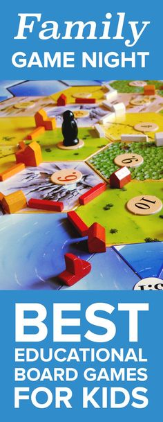 Board games are the perfect activity for these cold winter days. Find out which games are the best for kids.