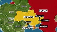 Shelling near two cities rocks fragile ceasefire in eastern Ukraine