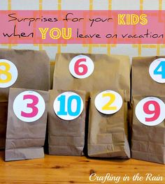 Vacationing without your kids - how to make it fun for them too!