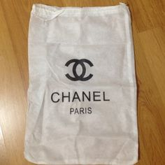 String store/dust shoes bag To protect your beautiful shoes. Measures 13x19 inches. CHANEL Bags