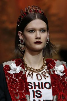 Dolce And Gabbana, Autunno/Inverno 2018, Milano, Womenswear