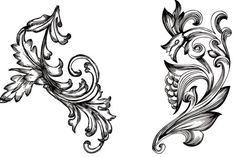 Handy Roundup of Free Vector Ornaments & Flourishes http://blog.spoongraphics.co.uk/freebies/handy-roundup-of-free-vector-ornaments-flourishes