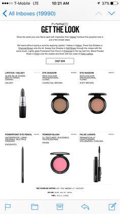 Grey Lipstick Grey Lipstick, Say Word, How To Apply Lipstick, Get The Look, Eyeshadow, Eye Shadow, Eye Shadows