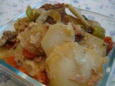 Slovak Recipes: Meal in a Foil (Živánska)