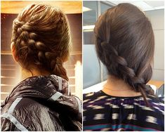 how to get Katniss' signature badass braid